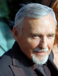Author Georges Biard Dennis Hopper 2008 at Cannes Film Festival