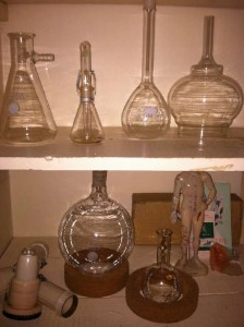 medical beakers