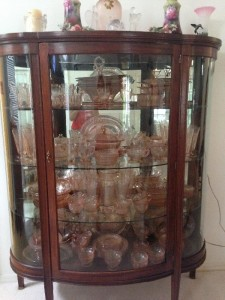 China cabinet & glass