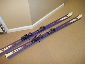 used snow skis