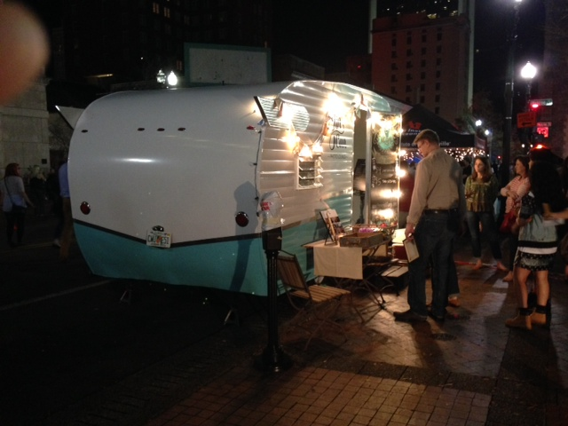 Vintage Camper Trailers Have New Life As Food Truck And Photo Lounge